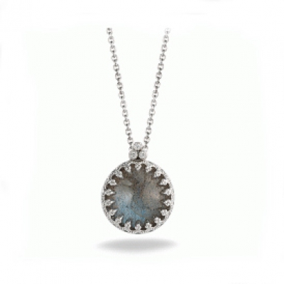 "SMALL ROUND ""CHELSEA"" NECKLACE"